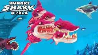 8 SHARKS IN 1...!!! New XXL FRENZY Shark   Hungry Shark World