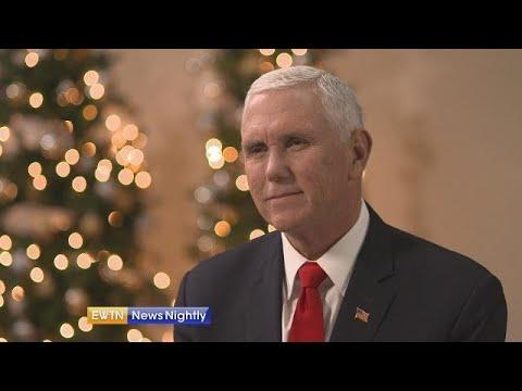 Vice President Pence on his Catholic upbringing - EWTN News Nightly