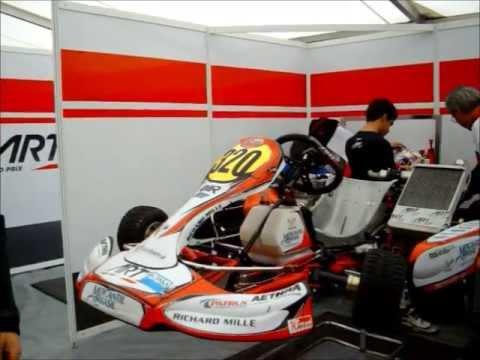 Inside ART Grand Prix Karting !