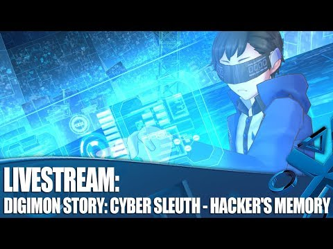 Let's Play Digimon Story: Cyber Sleuth - Hacker's Memory