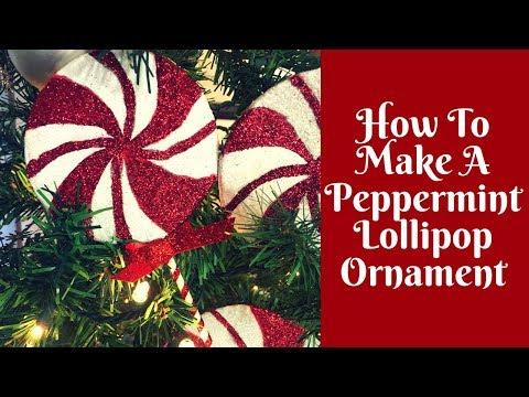 Christmas Crafts: DIY Lollipop Ornaments