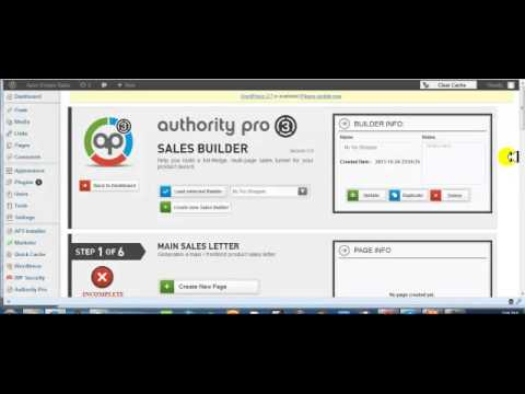 authority pro 3 update video