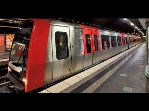 Hamburg - U Bahn U4 Hafencity - Überseequartier  HD1080p