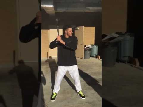 Rockies 3B Nolan Arenado takes us through his batting stance