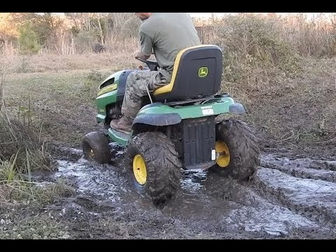 how to build a mud mower