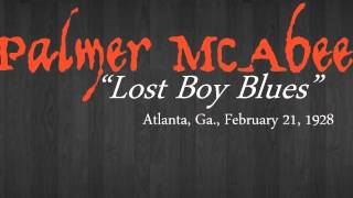 Palmer McAbee - Lost Boy Blues