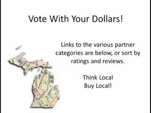 Vote With Your Dollars! As Seen In Michigan Business Directory
