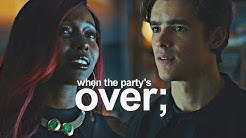 dick and kory | when the party's over