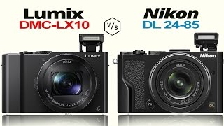 panasonic lumix lx10 lx15 vs nikon dl24 85