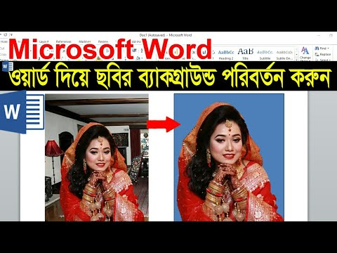 Microsoft Word Tutorial : How To Remove & Change Photo Background in MS Word