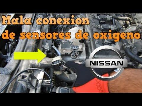 SENSORES DE OXIGENO NISSAN SENTRA 2001| Omar VW - YouTube