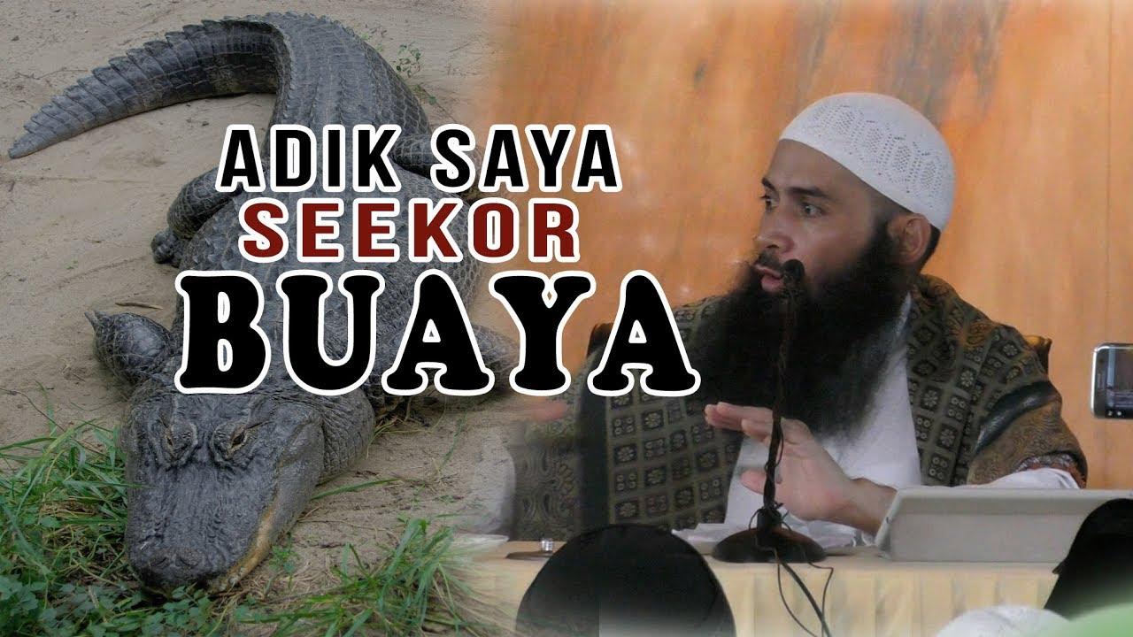 Ustadz DR Syafiq Riza Basalamah : Adik saya punya saudara kembar seekor buaya