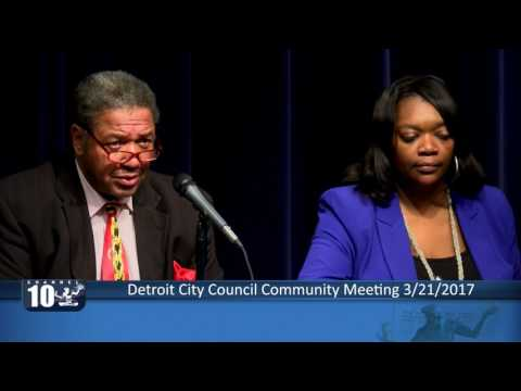 Detroit City Council Community Mtg March 21 WCCCD
