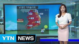 날씨 가마솥 더위 기승서울 37℃ 8호 태풍 북상 중 …