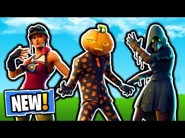 NEW FORTNITE HALLOWEEN LEAKED SKINS! FORTNITE NEW LEAKED SKINS PATCH UPDATE 6.02 IN FORTNITE