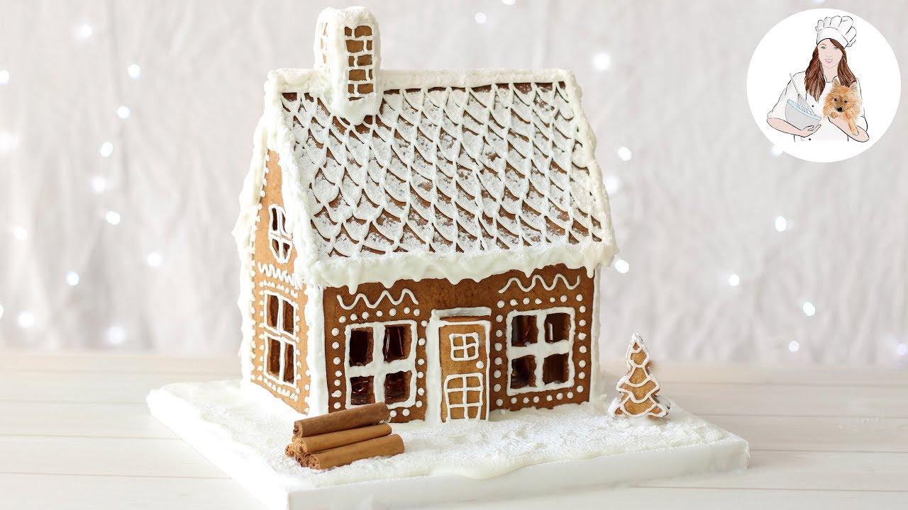 Gingerbread House Recipe How To Make A Gingerbread House Youtube