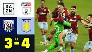 Villa nach Elfer-Krimi im Finale: West Brom - Aston Villa 3:4 i.E. | Championship-Playoffs | DAZN