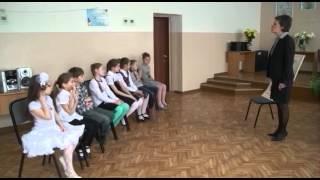 Белецкая Л И Урок Ритмика (город Омск)