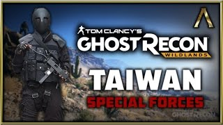 Ghost Recon Wildlands - Character Customization - Let's Create Taiwanese Special Forces!
