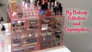 MAKEUP COLLECTION AND ORGANIZATION ft. Sorbus organizers