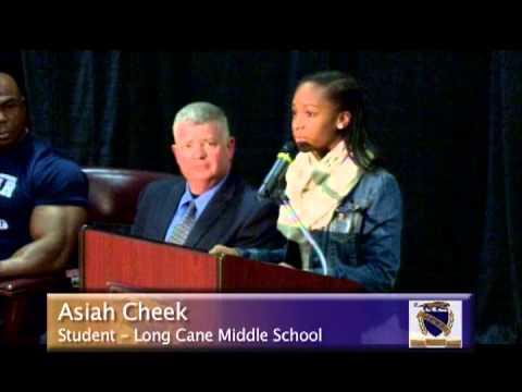 Long Cane Middle School Black History Program 2013