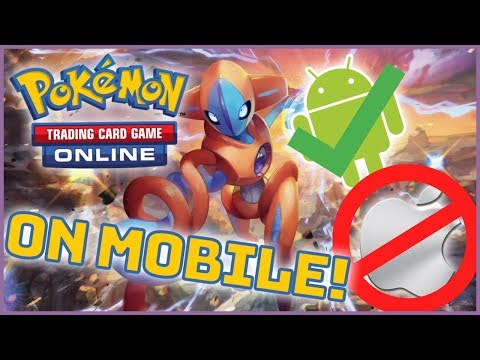 How To Download/Play Pokemon Trading Card Game Online For Android Phones! NO ROOT