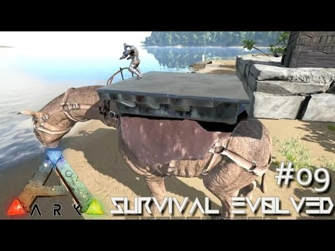 ARK: Survival Evolved - New Update & Paraceratherium Platforms !!! [Ep 09] (Server Gameplay)