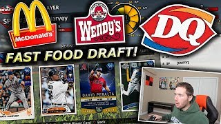 FAST FOOD WORKERS DRAFT MY TEAM!! MLB THE SHOW 18 BATTLE ROYALE