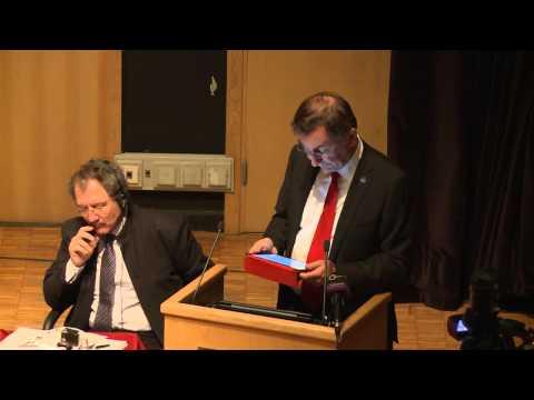 Pásztor János klímaváltozás ügyi főtitkár helyettes, ENSZ   Plenáris előadás