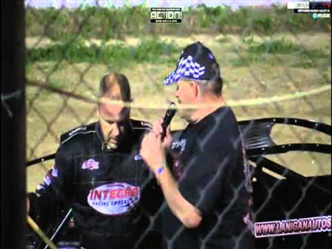 DARRELL LANIGAN WINS FIRST RACE IN HIS CLUB 29 CAR NORTH FLORIDA SPEEDWAY PART 3