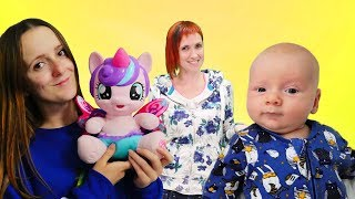 Литл Пони в гостях у Поняни - Видео для детей