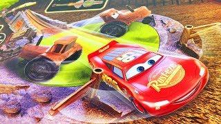 Машинки Тачки 3 Молния Маквин Новые Игрушки Трек Гонка Смоки Распаковка Мультики Машинки