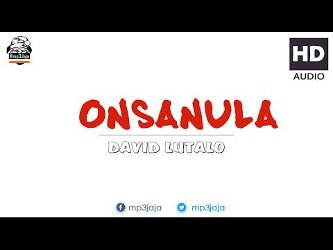 Onsanula - David Lutalo [Prod by Yaled] New Music August 2016