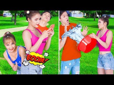 Girl DIY! 23 BEST FUNNY PRANKS ON FRIENDS | Funny DIY Pranks Compilation | Family Funny Pranks