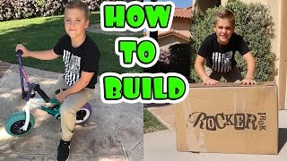 HOW TO BUILD A ROCKER BMX