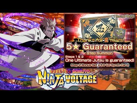 ОТКРЫВАЕМ ГАРАНТ! 🔥 2ND ANNIVERSARY ► Naruto X Boruto Ninja Voltage