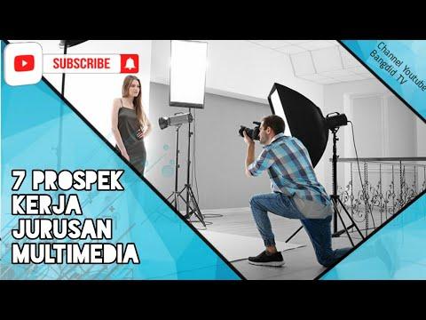 7 Prospek Kerja Jurusan Multimedia