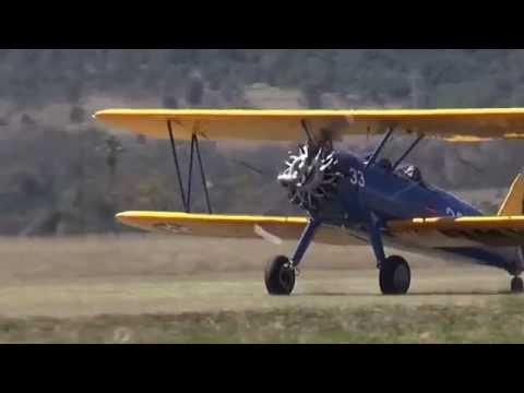 Boeing PT 17 Groundloop