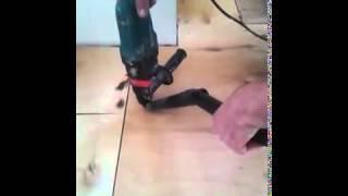 фанера - Укладка фанеры на бетонный пол стяжку(, 2014-09-11T09:42:23.000Z)