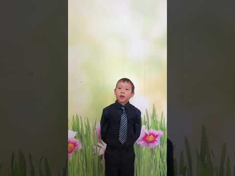 Федоров Саша 6 лет стихотворение Н.Саконской «Разговор о маме»