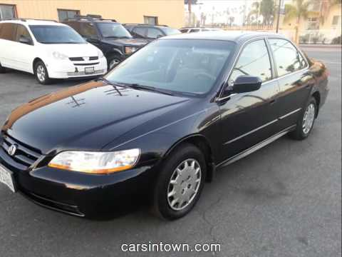 High Quality 2001 Honda Accord Lx Black