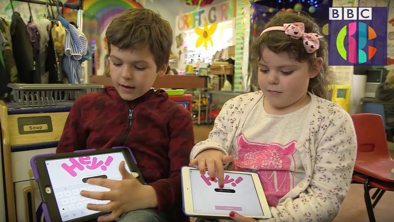 CBBC fans react to new BBC iPlayer Kids app - YouTube
