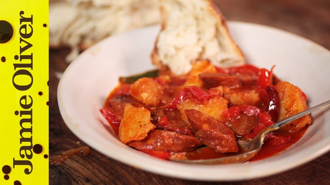 Spanish Chorizo & Potato Stew | Omar Allibhoy