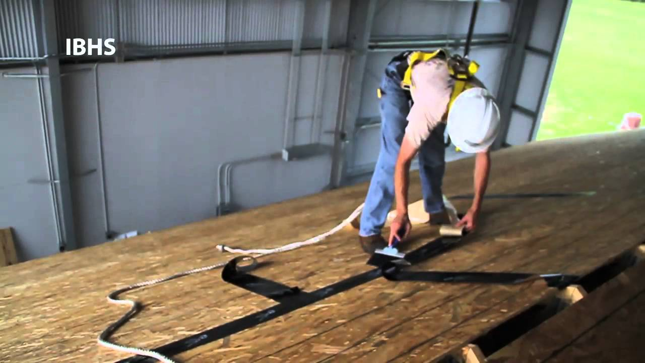 Sealing The Roof Deck Peel And Stick Option Youtube