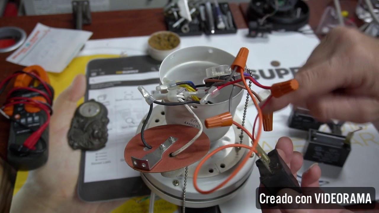Reparar Ventilador De Techo  Capacit U00f3r Da U00f1ado   Ud83e Uddd0 Ud83d Ude31