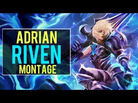 Adrian Riven Montage   Best Riven Plays [IRIOZVN]