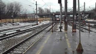 Чуть не стал жертвой сапсана / Velaro RUS / ЭВС1-08
