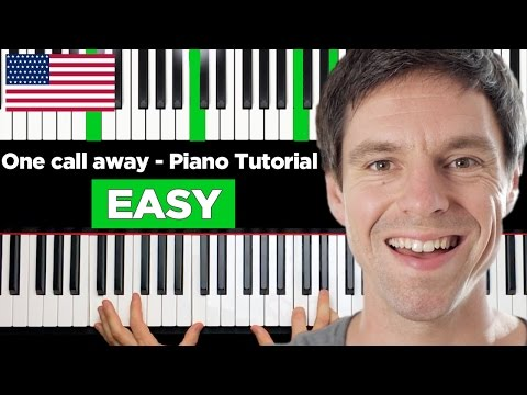 One call away - Charlie Puth - Piano Tutorial - EASY & Advanced