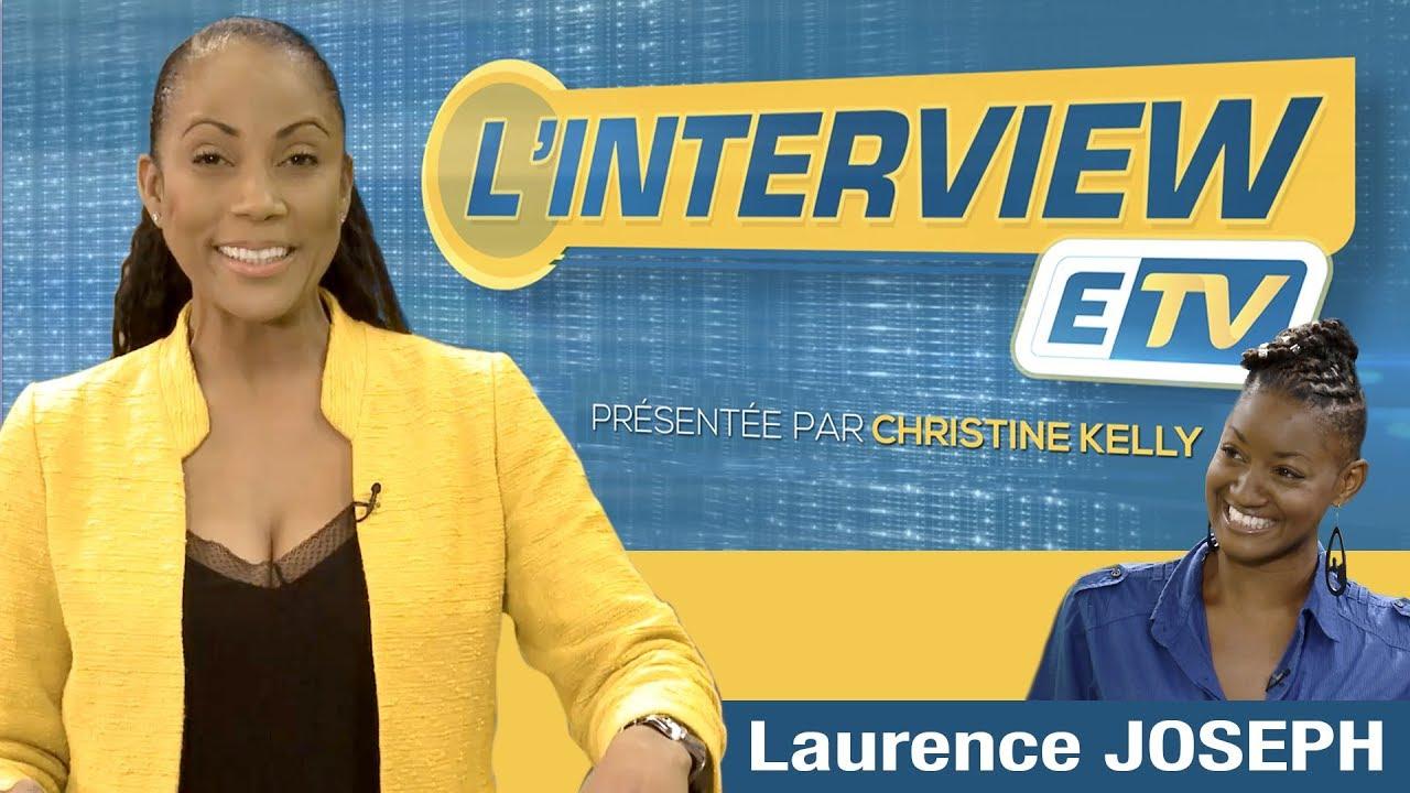 L' interview ETV - Laurence JOSEPH (Auteur, comédienne, metteur en scène)