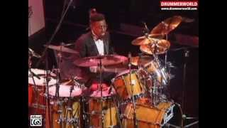 "Marvin ""Smitty"" Smith & The Buddy Rich Big Band: Drum Solo - Good News"